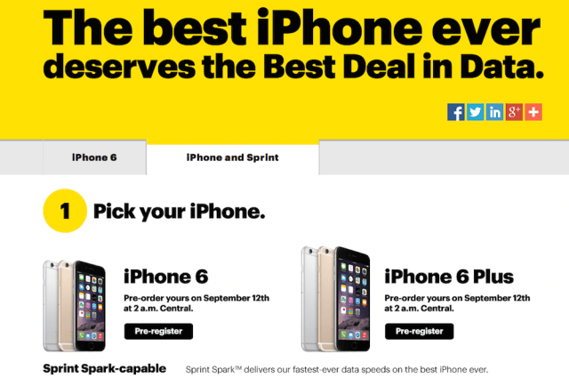sprint iphone for life lease plan
