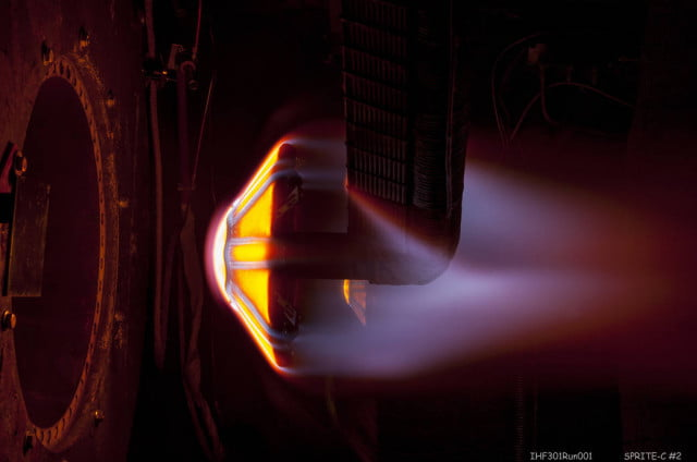 nasa successfully tests heat shield for future mars missions sprite c