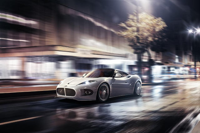 will the spyker b  venator have heart of a toyota front three quarter motion