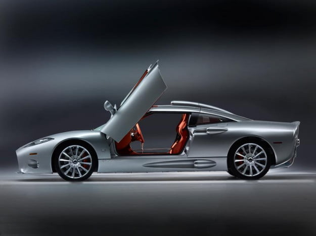 Spyker C8 Aileron profile view door open