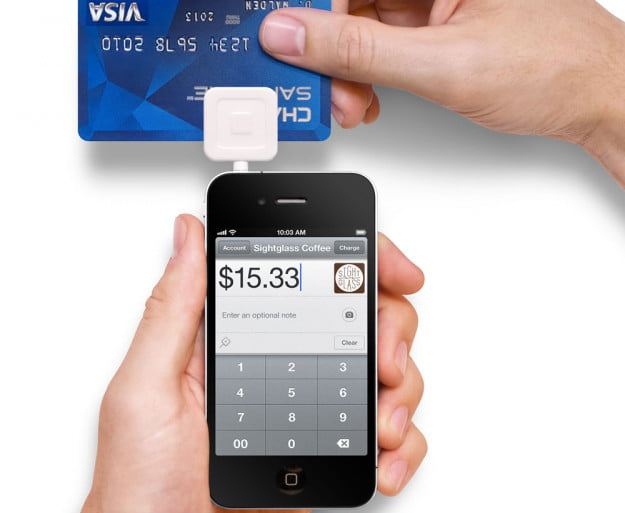 Square credit card reader (iPhone)