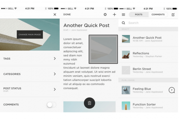Squarespace Best iPhone Apps