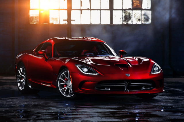 srt viper production cut due to bloated inventory  front three quarter