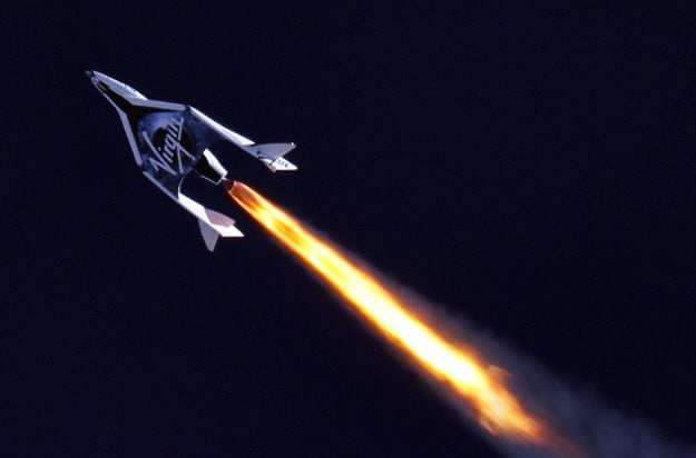 gravity is for poor people ss2 first supersonic flight telescope image
