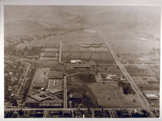 Stanford Industrial Park circa 1950s