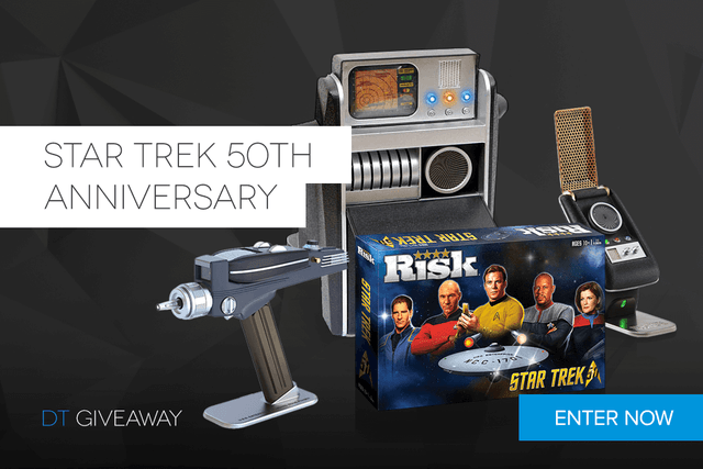 star trek  th anniversary giveaway