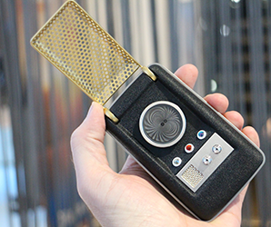We don't have teleporters yet, but this working Star Trek communicator is legit