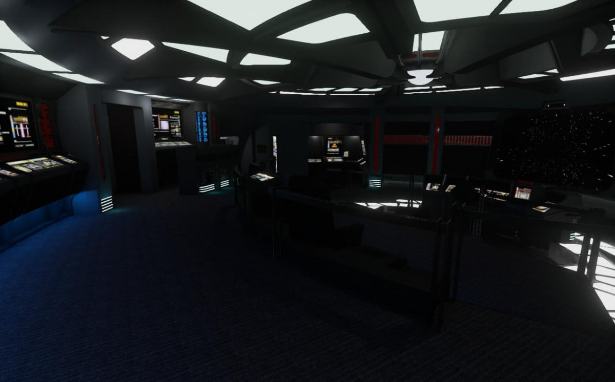 unreal engine  powers star trek voyager virtual reality demo