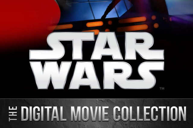 star wars itunes april  digital movie collection