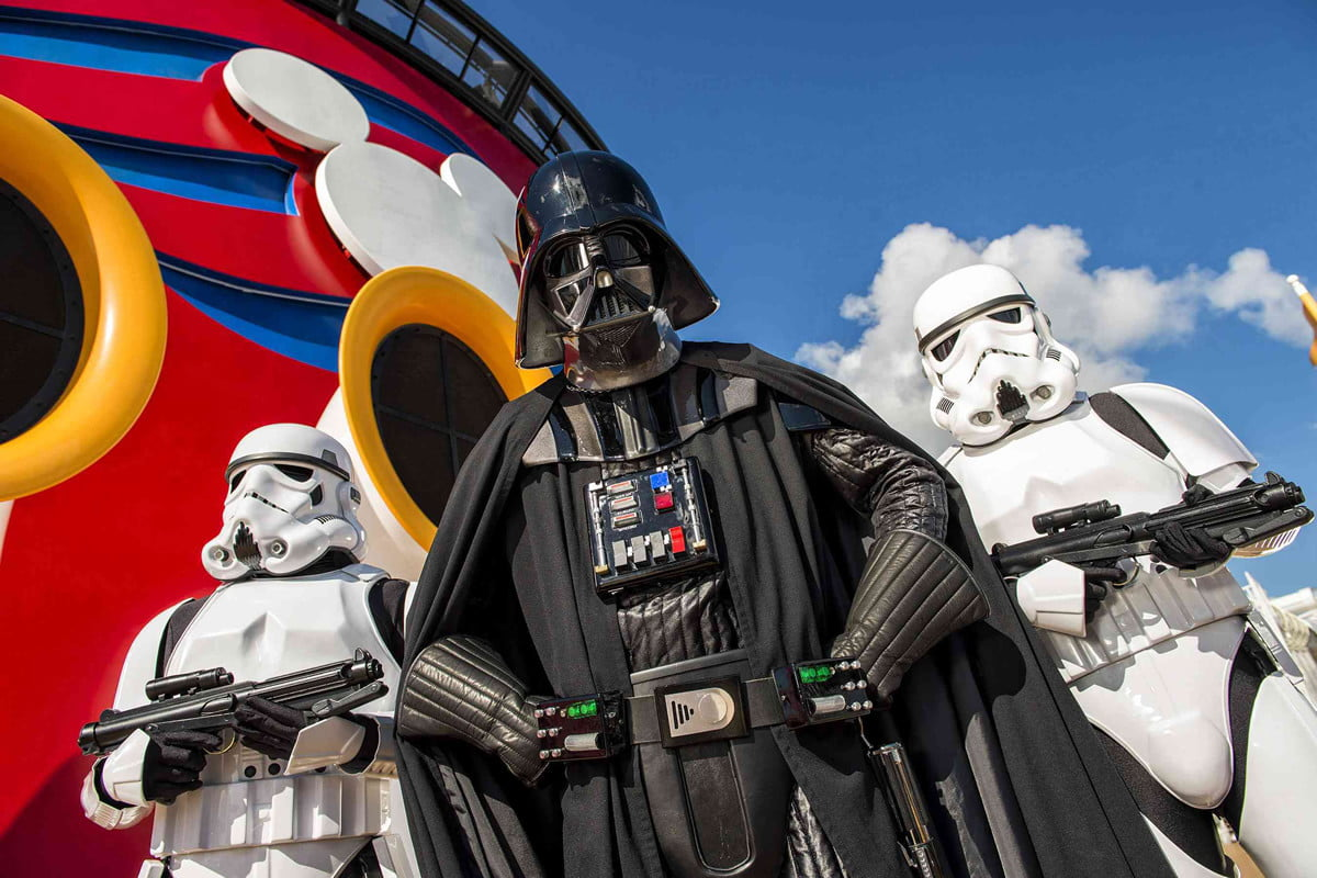 construction of star wars land at disney parks begins in  darth