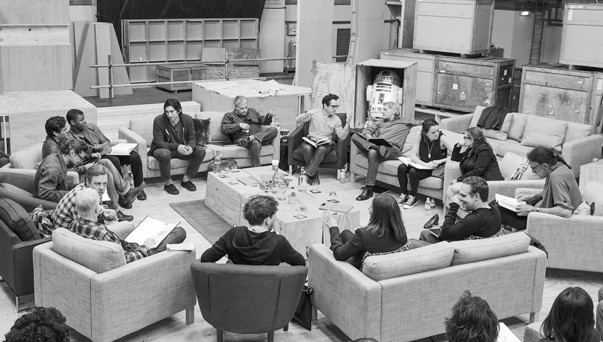 star wars episode vii finished filming  cast announce