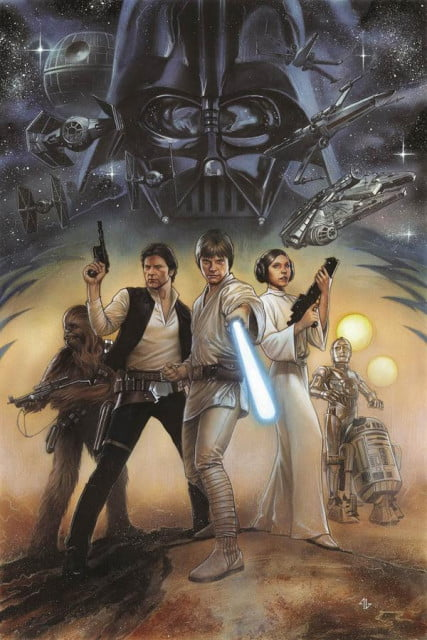 star wars episode iv hc