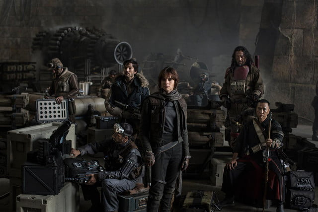 rogue one a star wars story trailer premiere