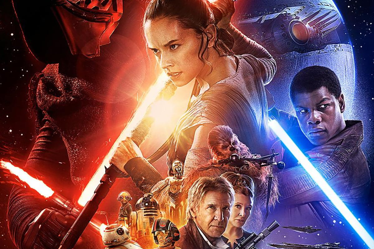 new star wars poster lands with clues about the force awakens shot
