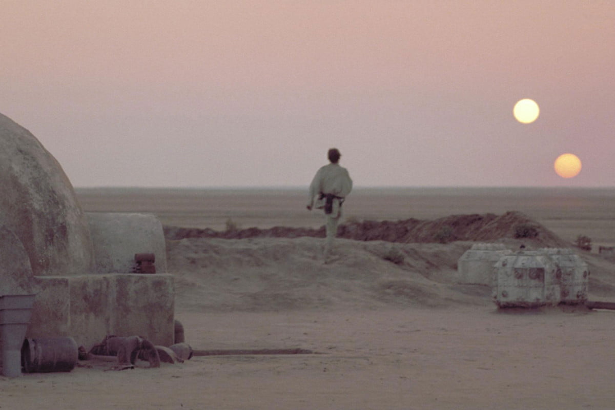empire strikes brick rian johnson write direct star wars episode viii tatooine