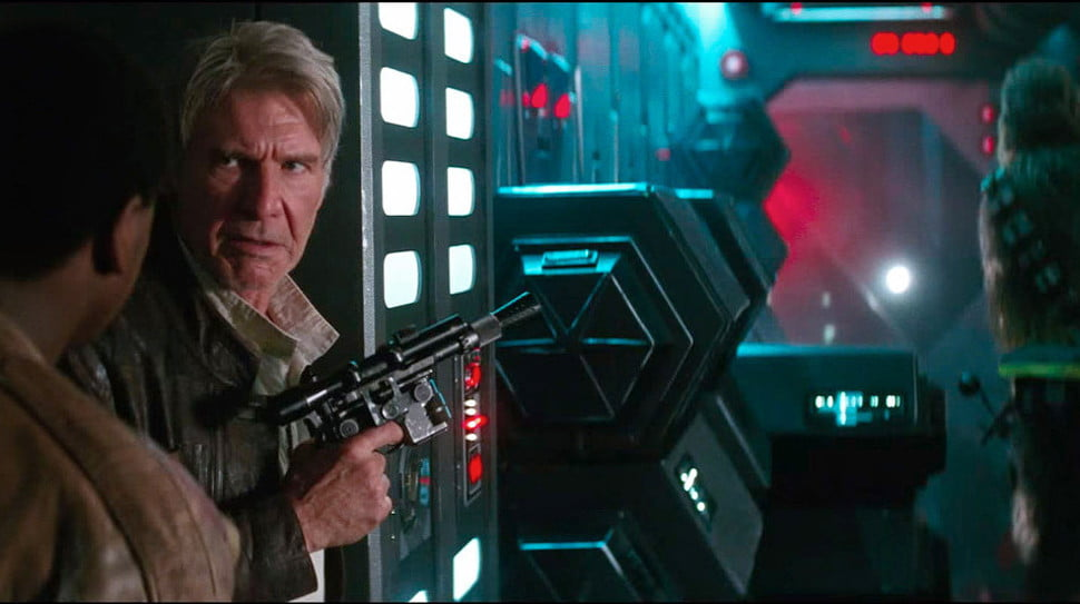 harrison ford earns  times more than star wars co stars the force awakens x c