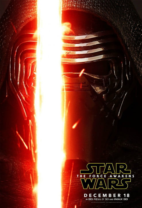 new star wars the force awakens posters kylo