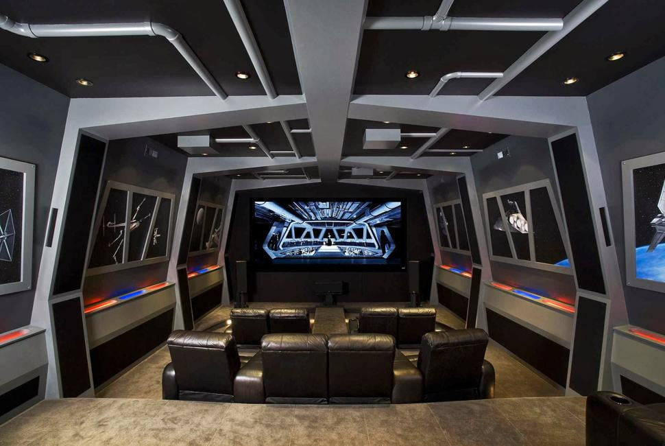 Pics of the best Star Wars-inspired home theaters | Digital Trends: www.digitaltrends.com/home-theater/star-wars-home-theaters