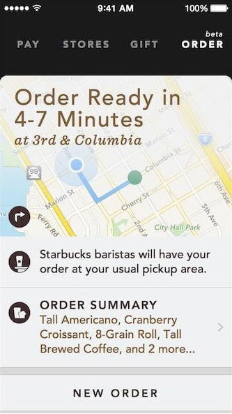 starbucks portal to the future mobile order app