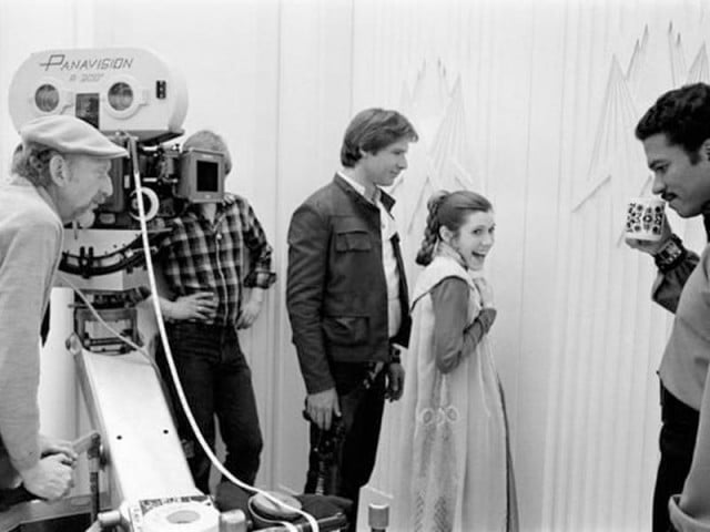 chewbacca actor shares treasure trove behind scenes star wars pictures starwars