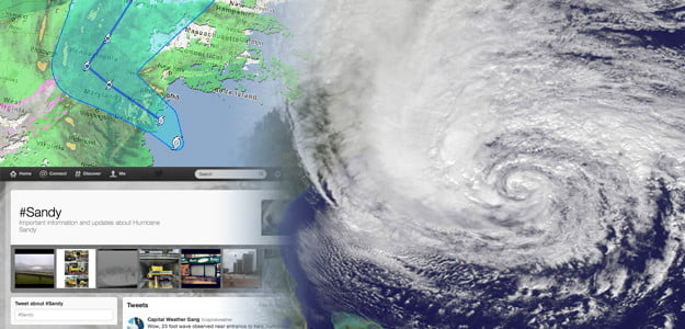 state of the web hurricane sandy
