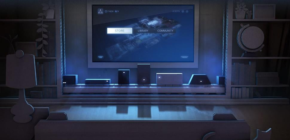 steam comes to the living room devices