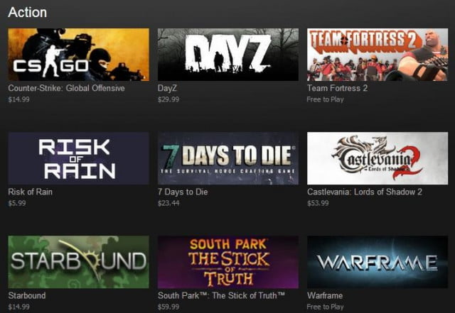 steam creates new way browse games tags