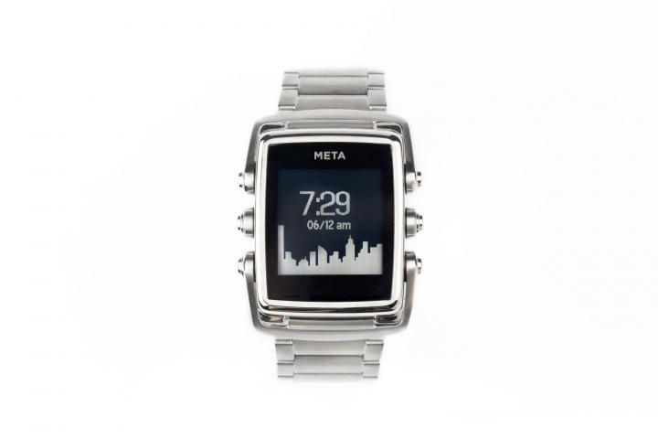 meta m  smartwatches start shipping steel front