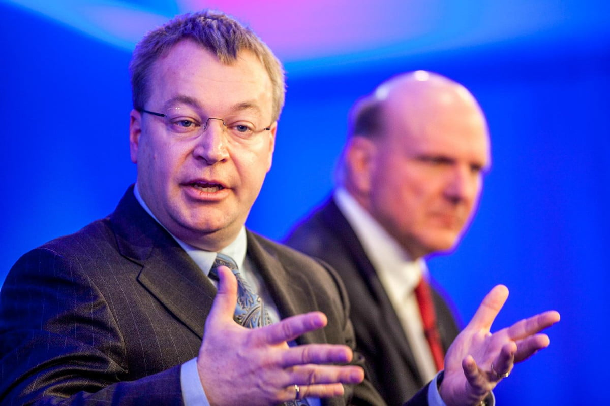 things stephen elop might get microsoft back track steve balmer nokia