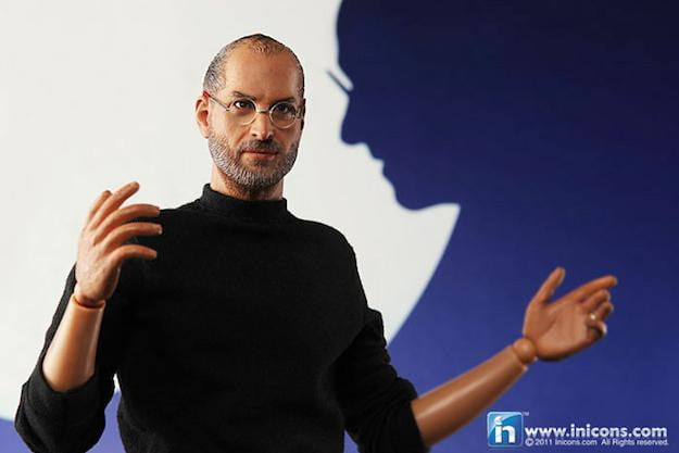 Steve Jobs Action Figure In Icons