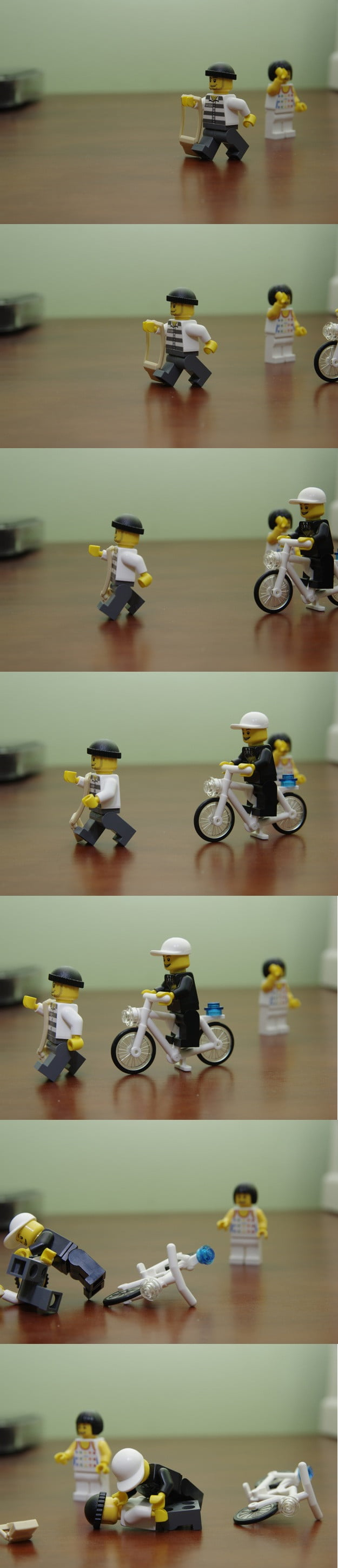 stop motion video lego