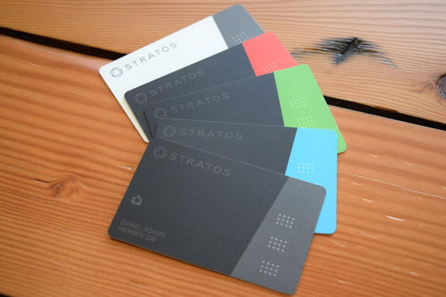 stratos sells to ciright one card array full