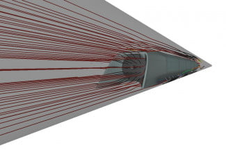 Streamlines-for-capsule-traveling-at-high-subsonic-velocities-inside-Hyperloop