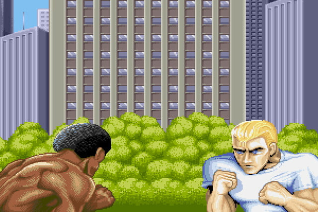 street fighter  characters mystery ii intro