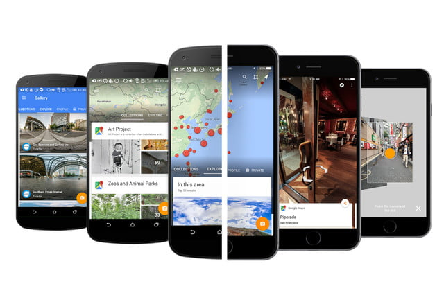 googles new street view app lets you add panoramic imagery and browse collections