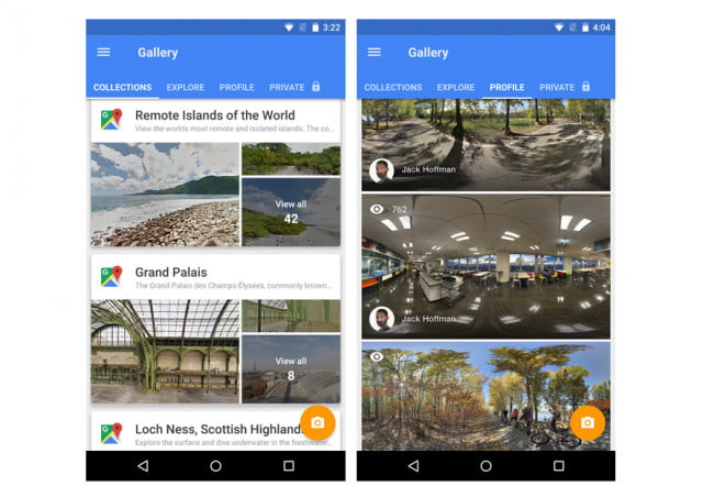 street view app for android and ios
