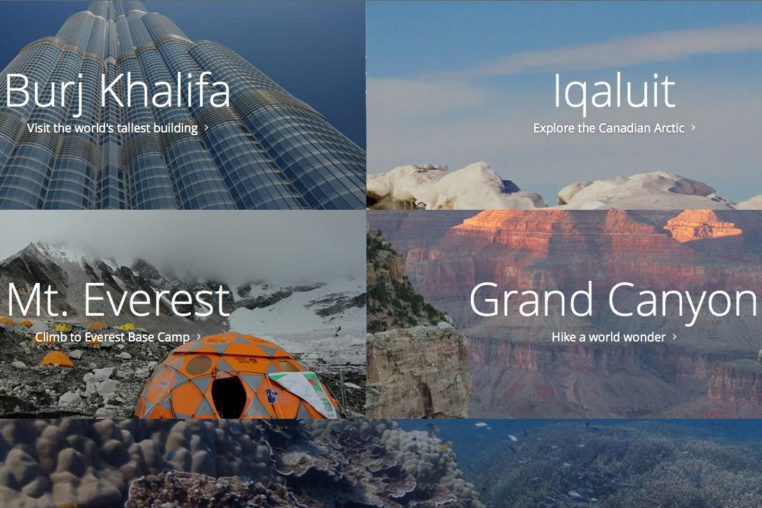 google launches behind the scenes site for street view collections