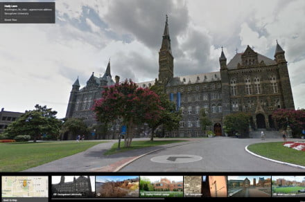 street view colleges