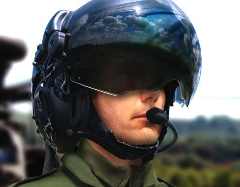 Striker helmet from BAE