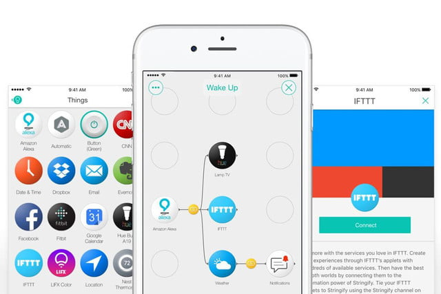 stringify android ifttt partnership and