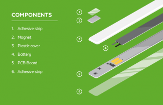 Strips components