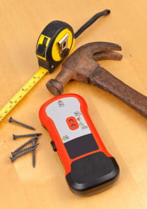 Stud finder and other tools