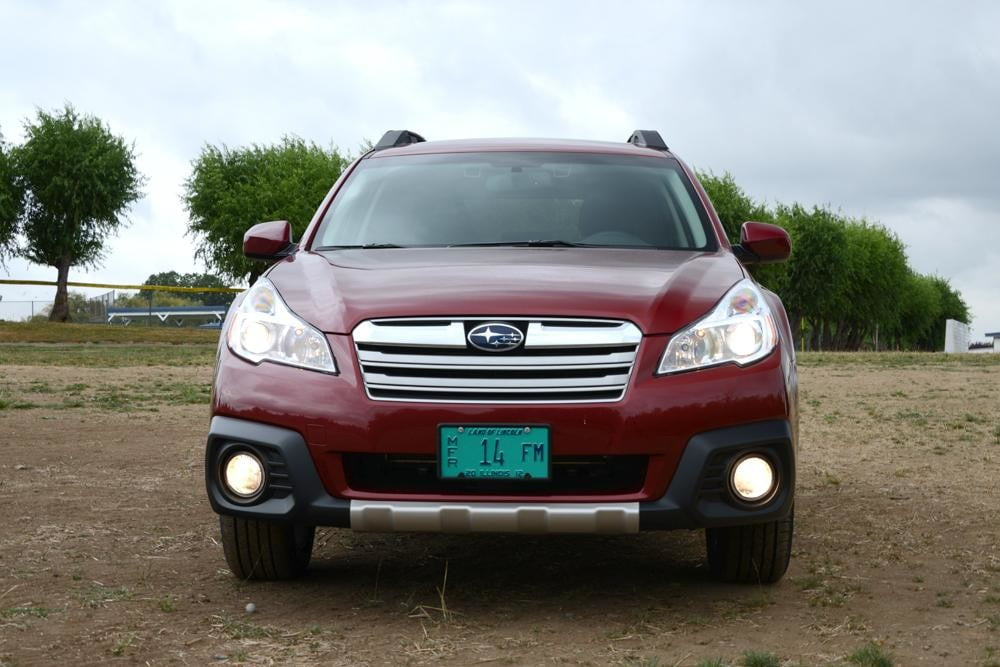 subaru outback front suv review