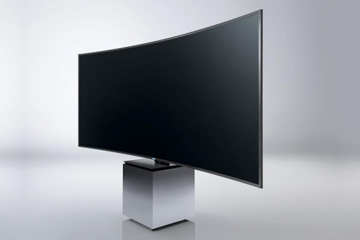 yves behar samsung collaborate on tv design yun je kang suhd  s w angled