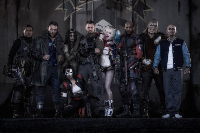 suicide squad reshoots rogues gallery deadshot killer croc harley quinn
