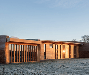 Tranquil inside and out, Sunbeams Music Center is built to soothe