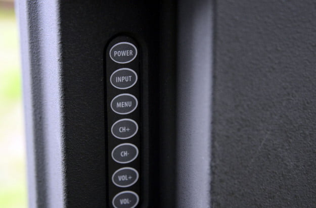 sunbrite tv sb 5560 hd rear controls macro