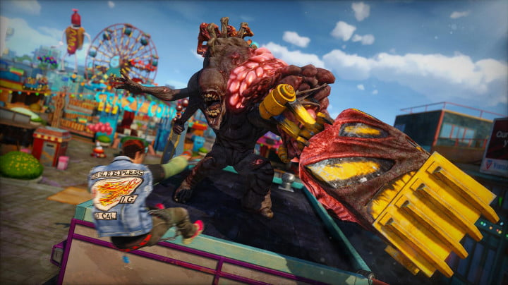 sunset overdrive e  hands on preview herker