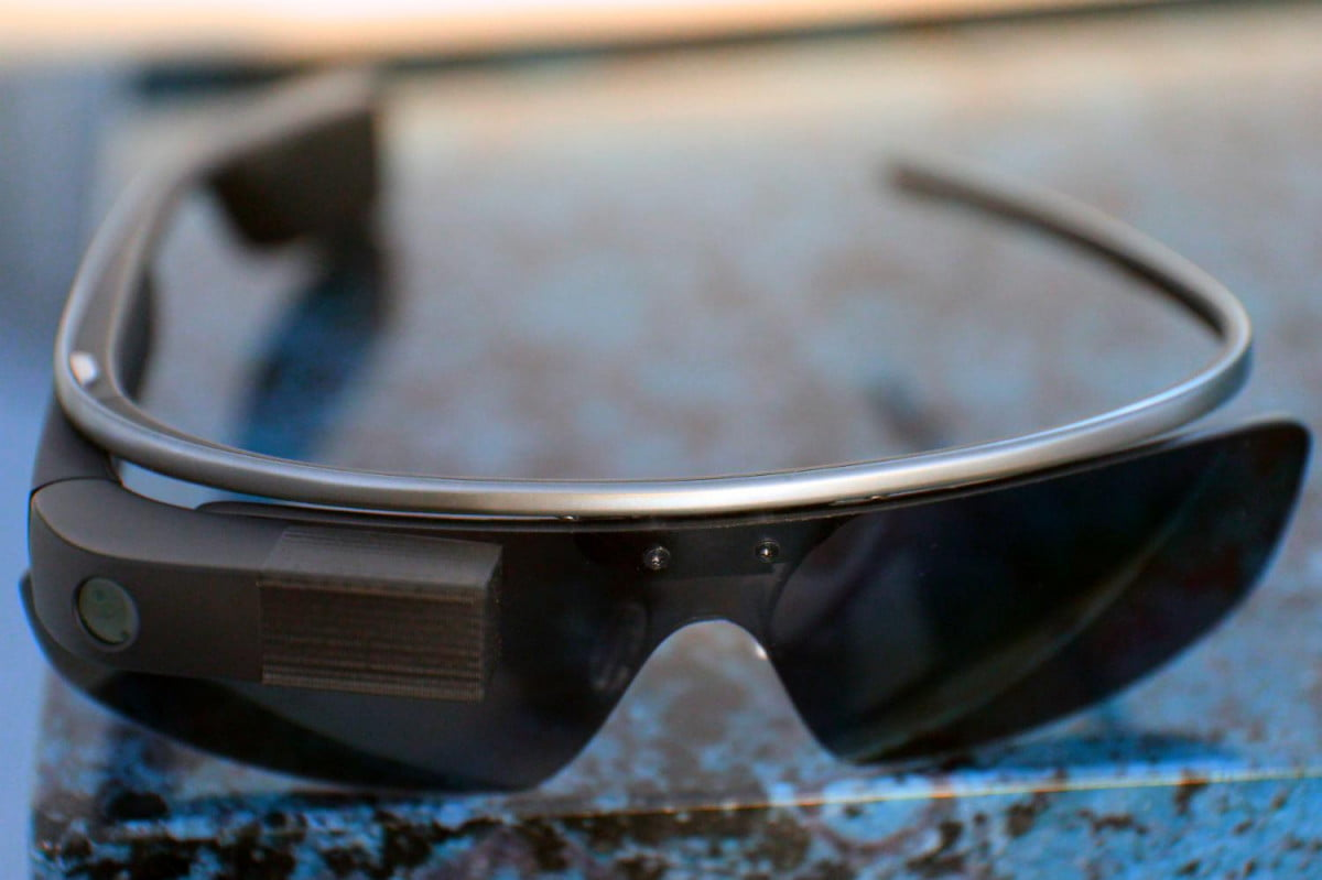 sunshade  d printed open source ray bans google glass