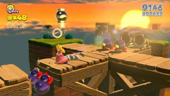 super mario  d world review screenshot